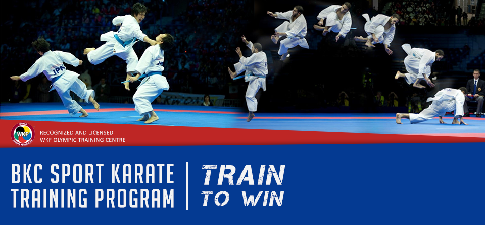 WKF Olympic Karate Program – 'Train to Win'